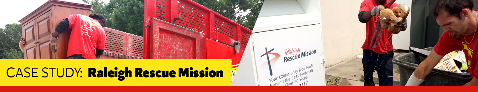 CASE STUDY:  Raleigh Rescue Mission